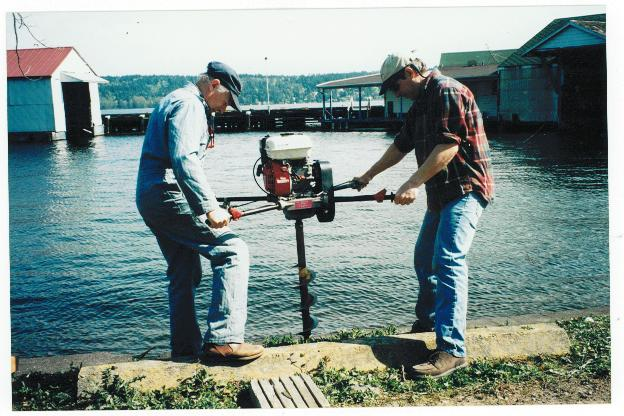 Volunteer Work Party in 1999