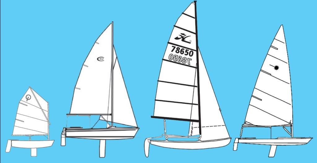 Variety of Boats