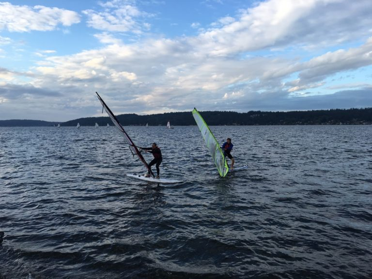 Windsurfing! – Sail Sand Point